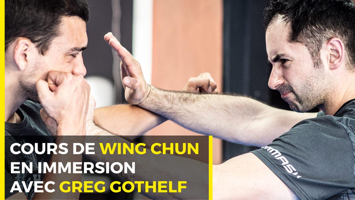 Cours de Wing Chun en ligne avec Greg Gothelf Greggot
